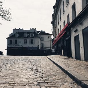 Place Jean-Marais. Montmartre.