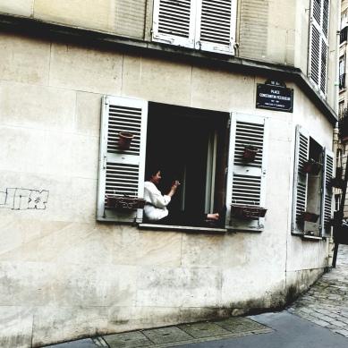 Rue Constantin Pecqueur. Montmartre.
