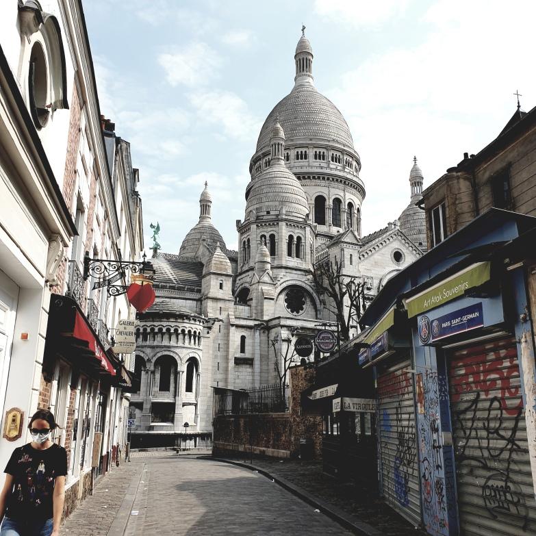 Rue du Chevalier de la Barre. Montmartre.